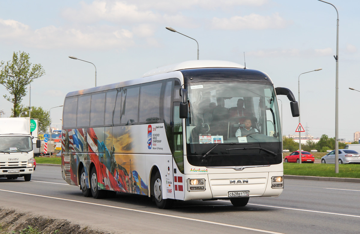 Saint-Petersburg, MAN R08 Lion's Coach L RHC444 # С 628 ВТ 178