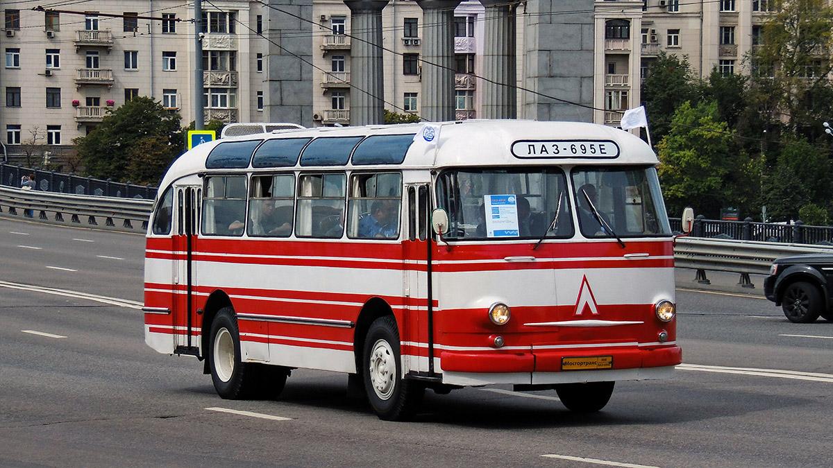 Moscow, LAZ-695E # 006