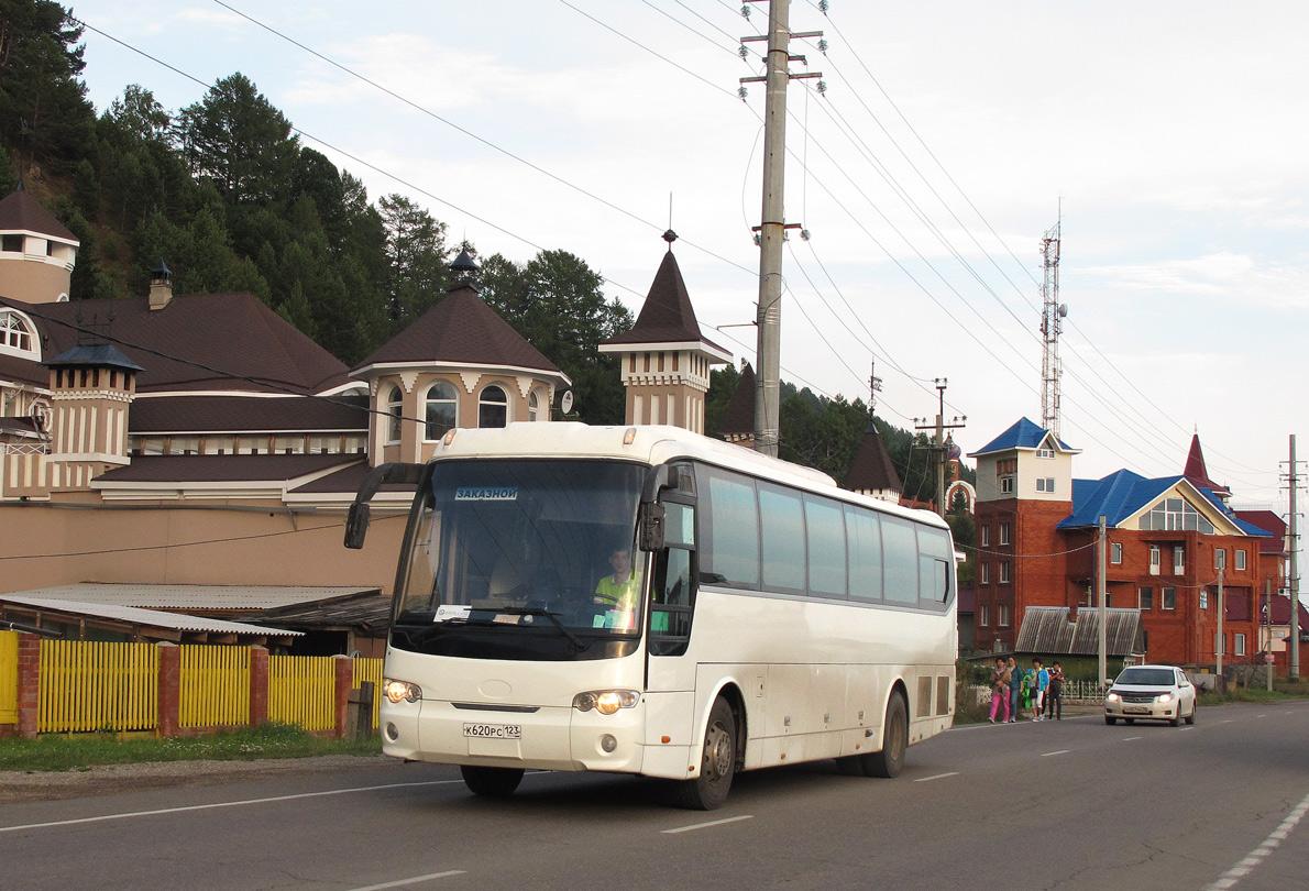Irkutsk region, JAC HK6120 # К 620 РС 123