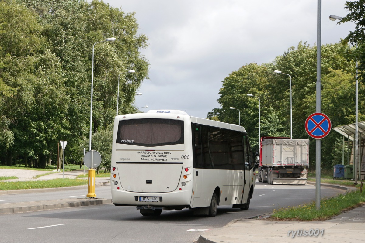 Lithuania, Kapena Thesi Intercity # 008