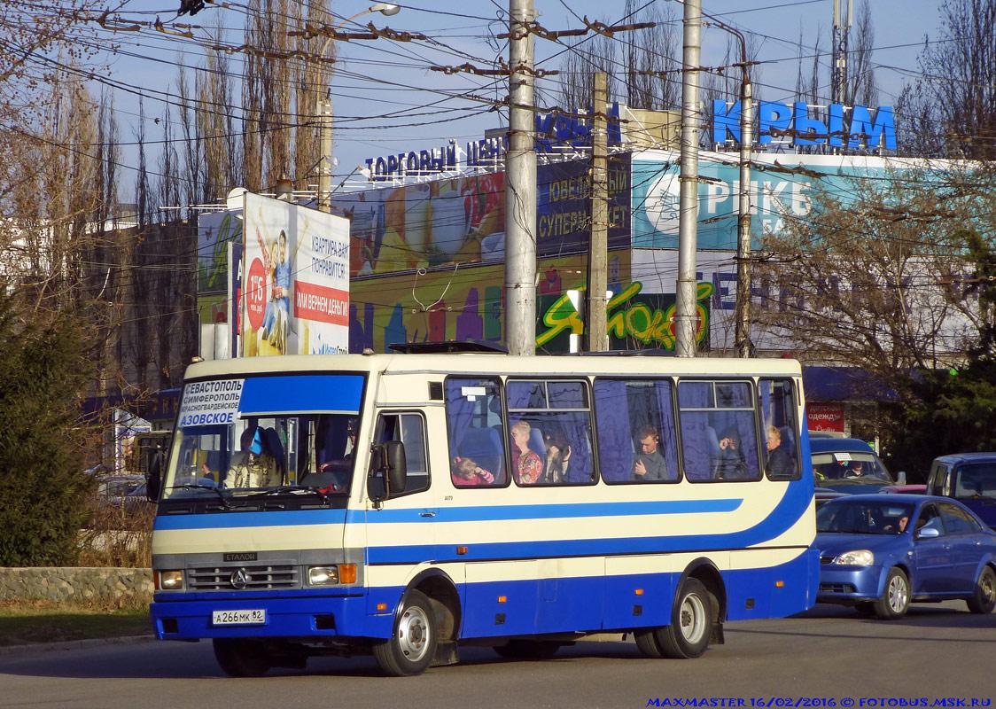 """Republic of Crimea, BAZ-A079.23 """"Malva"""" # А 266 МК 82"""