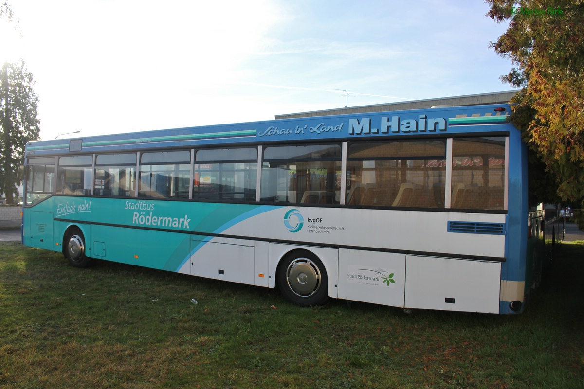 Germany, Mercedes-Benz O405 # OF-AC 850