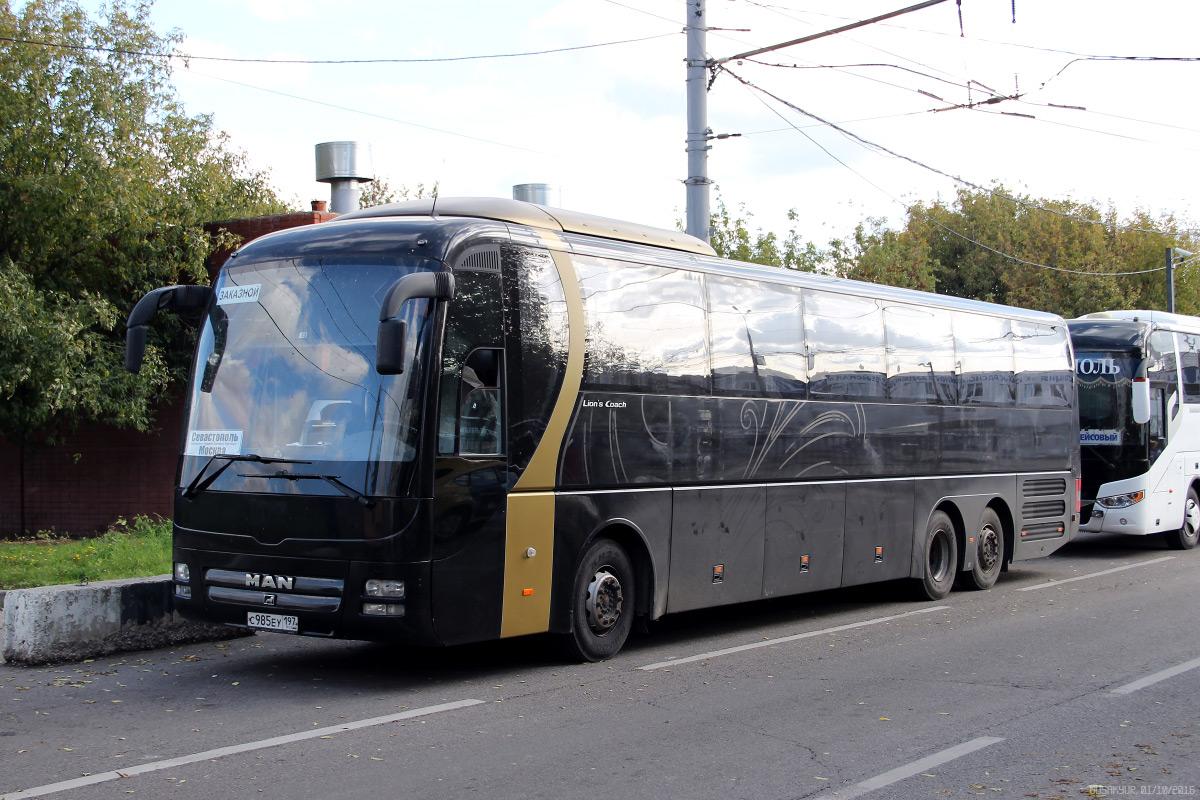 Севастополь, MAN R08 Lion's Top Coach RHC444 № С 985 ЕУ 197