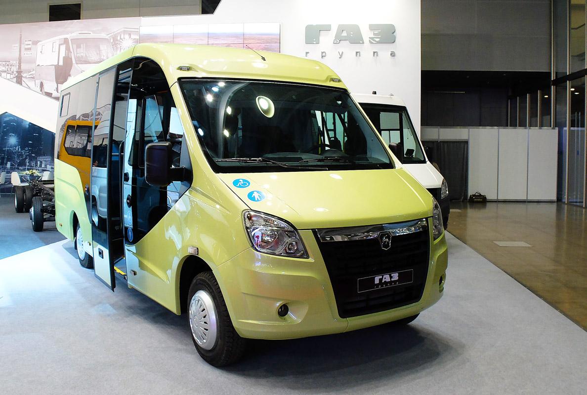 Нижегородская область, (прочие модели) № ГАЗ-A68R52; Busworld Russia 2016 (Нижегородская область)