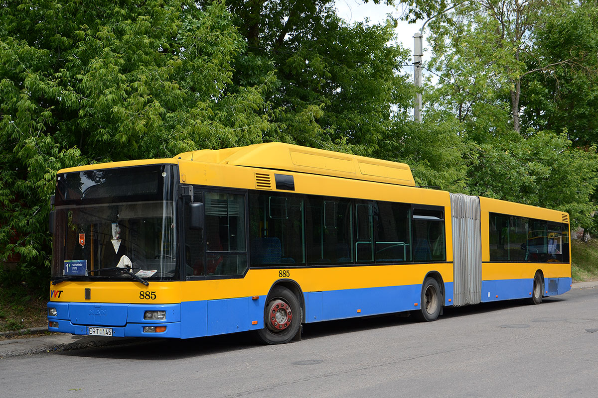 Lithuania, MAN A23 NG313 CNG # 885