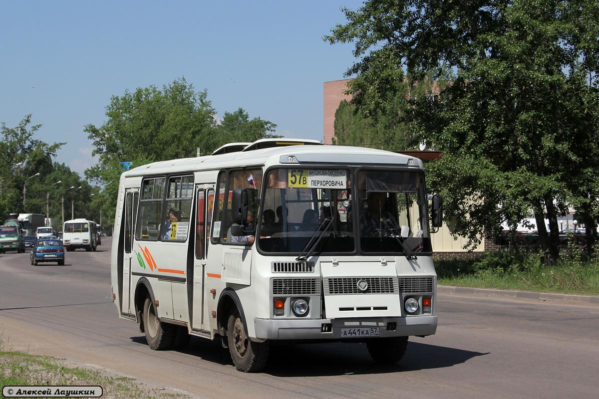 Voronezh region, PAZ-32054 (40, K0, H0, L0) # А 441 КА 57