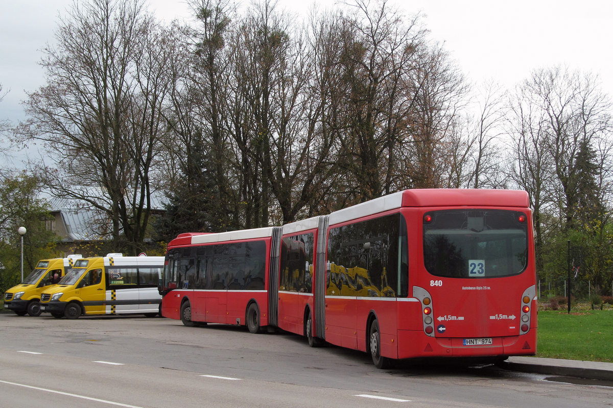Lithuania, Van Hool New AGG300 # 840