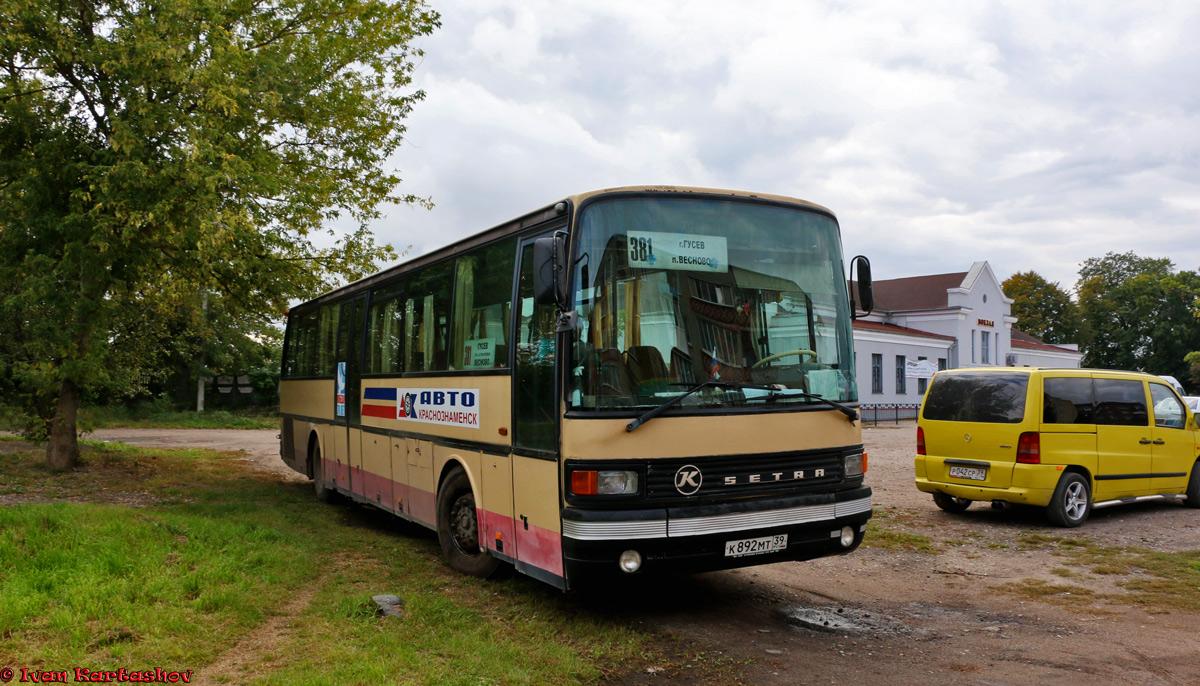 Kaliningrad region, Setra S215UL # К 892 МТ 39
