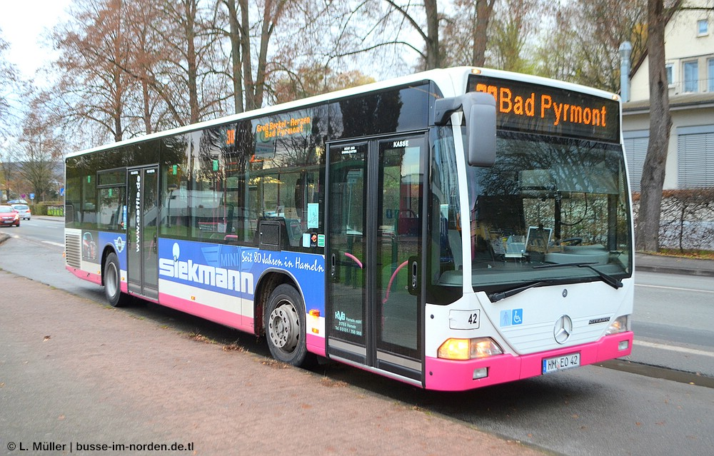 Germany, Mercedes-Benz O530 Citaro # 42