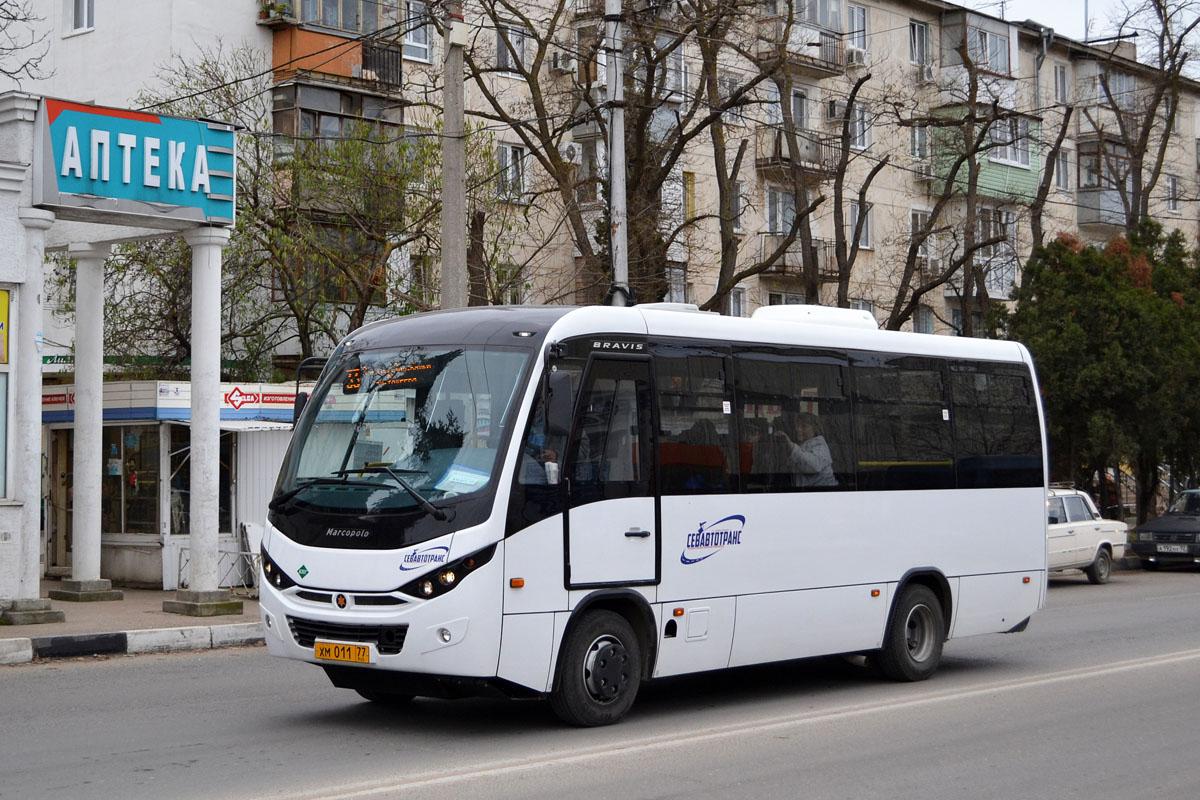 Севастополь, Marcopolo Bravis 3297-20-G5 № ХМ 011 77