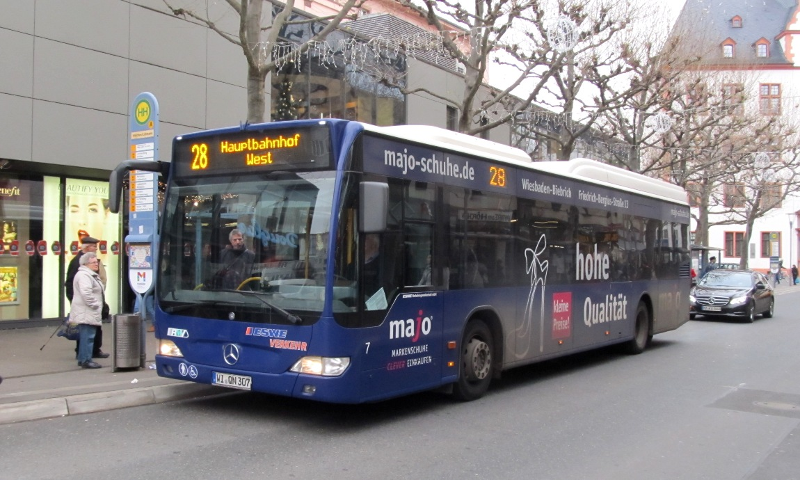 Germany, Mercedes-Benz O530 Citaro LE # 7