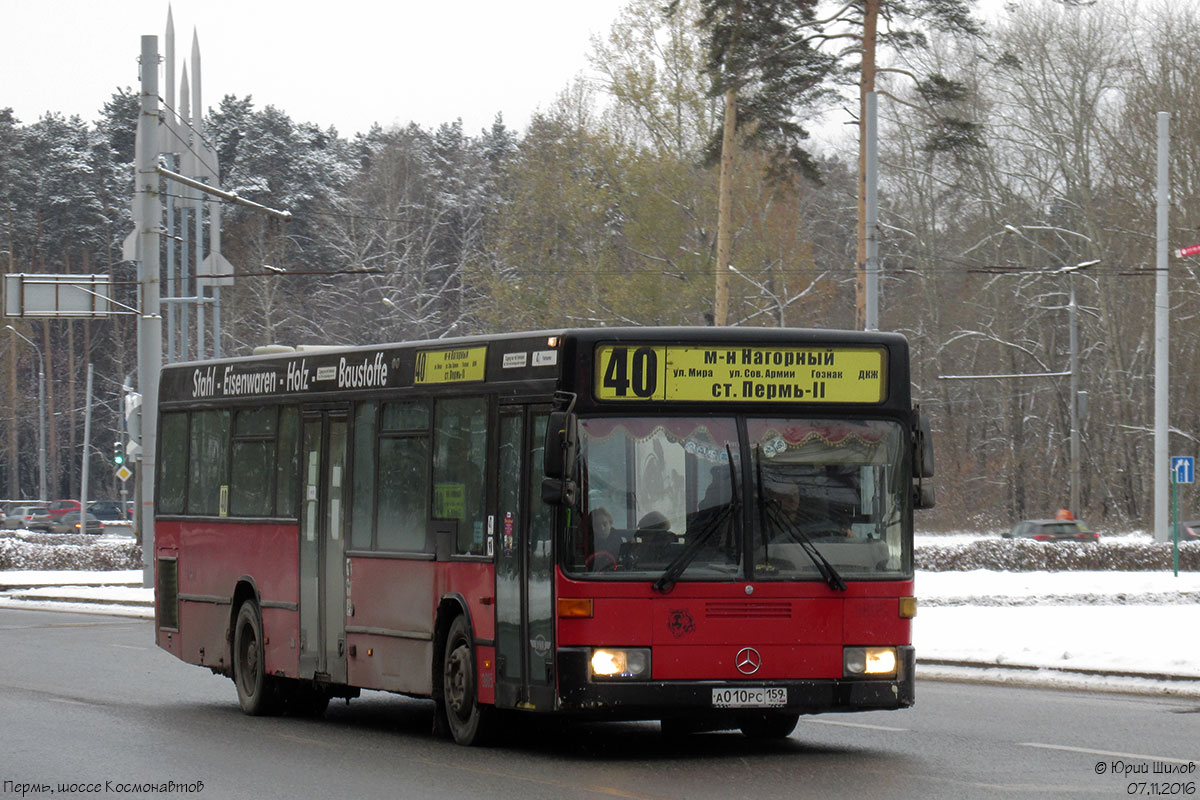 Perm region, Mercedes-Benz O405N2 # А 010 РС 159
