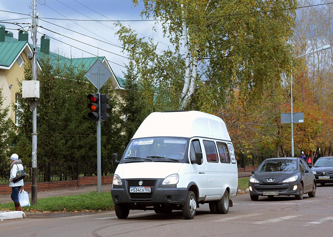 Bashkortostan, Luidor-225001 (GAZ-3221) # Р 534 СА 102