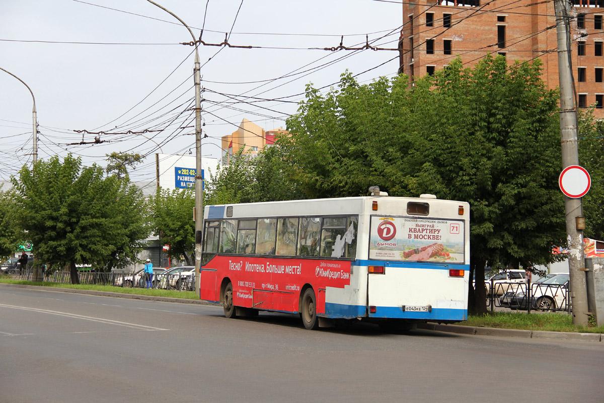 Krasnoyarsk region, MAN SL202 # Е 043 КЕ 124