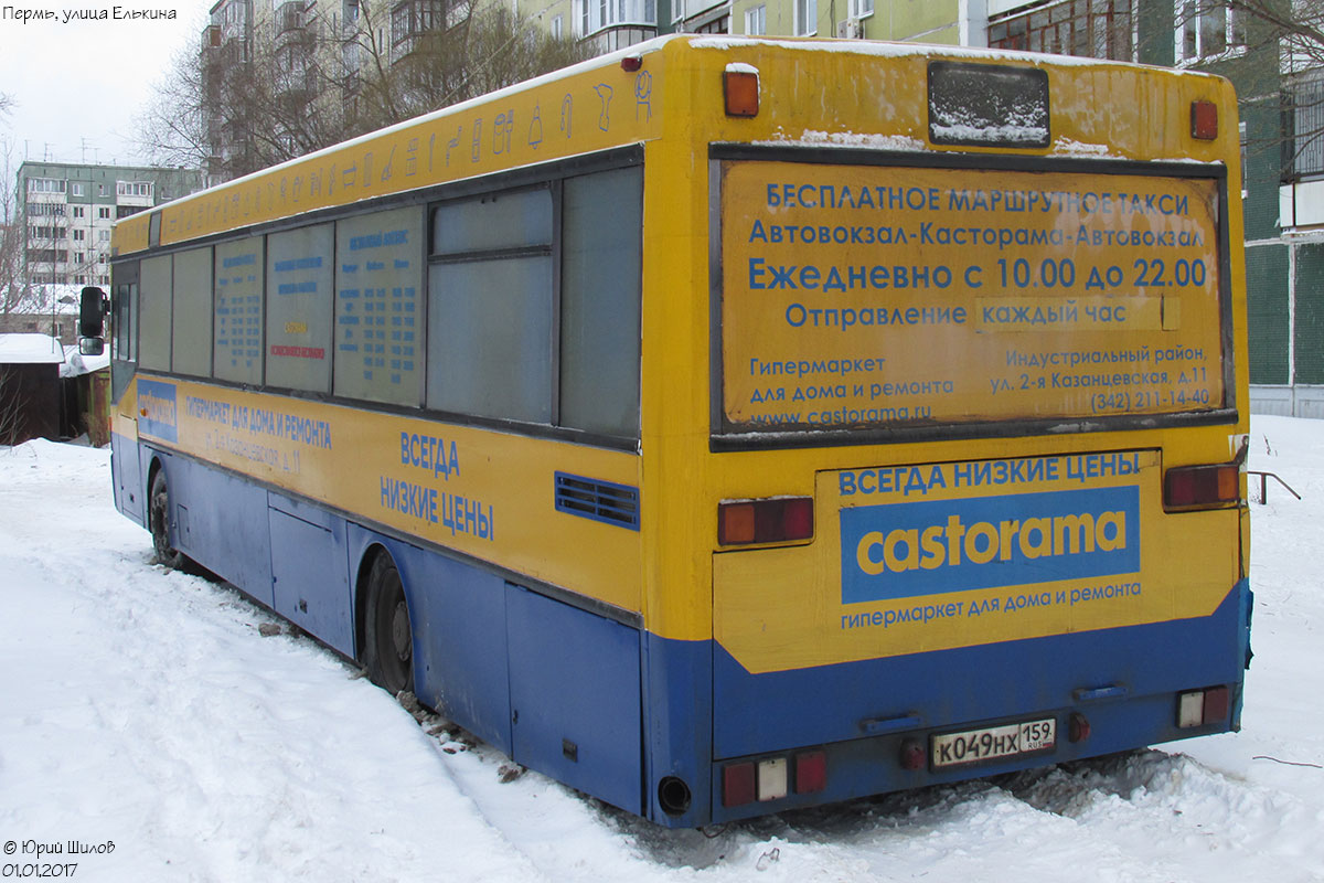 Perm region, Mercedes-Benz O405 # К 049 НХ 159