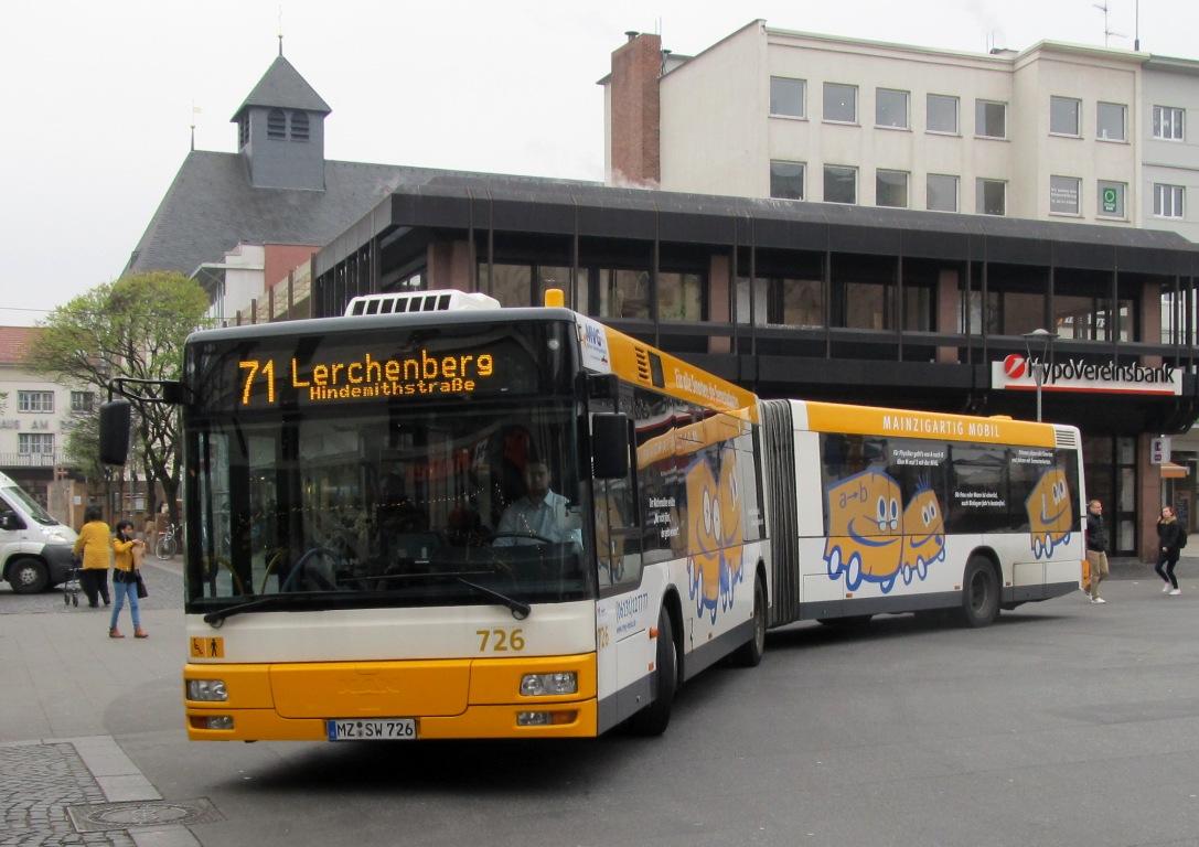 Germany, MAN A23 NG313 # 726