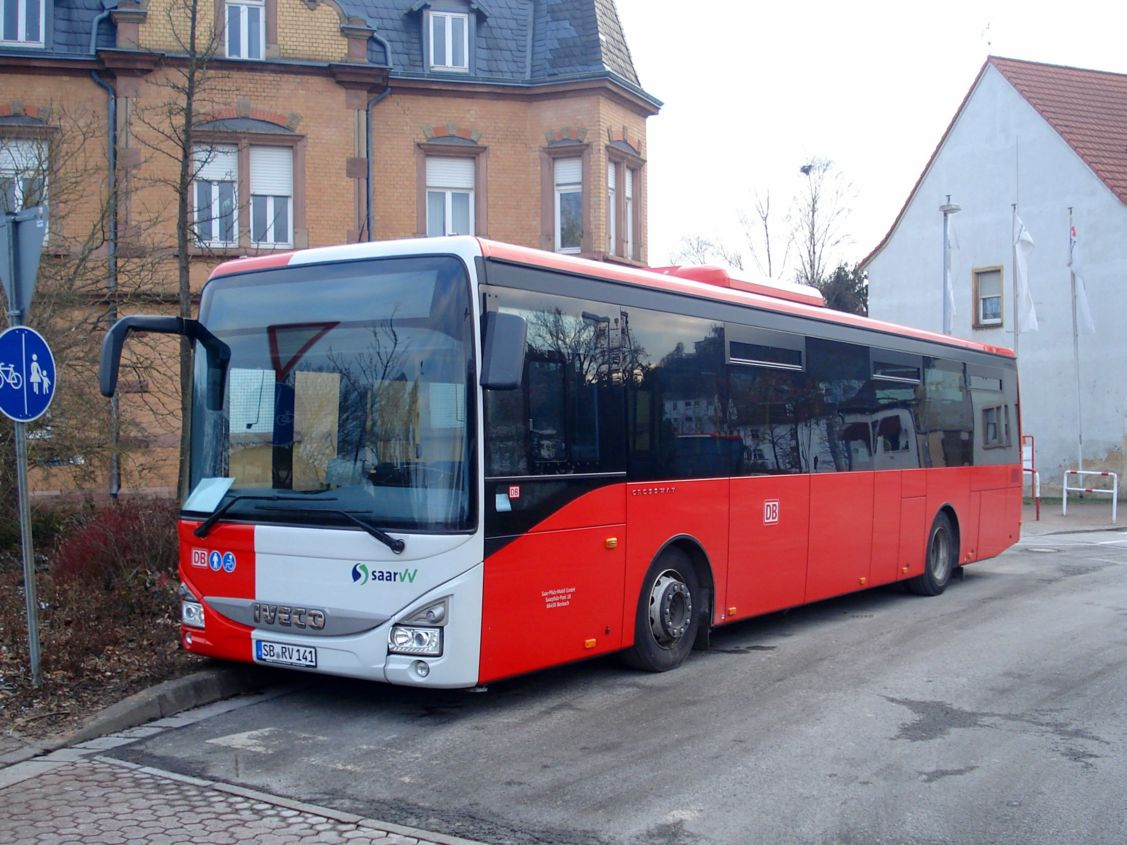 Germany, IVECO Crossway LE City 12M # SB-RV 141