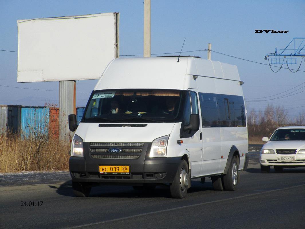 Primorskiy region, Ford Transit [RUS] (Z6F.ESF.) # 1710