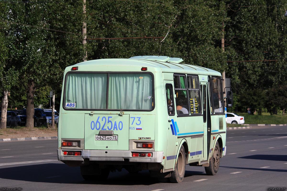 Ulyanovsk region, PAZ-32053 (30, E0, C0, B0) # О 625 АО 73