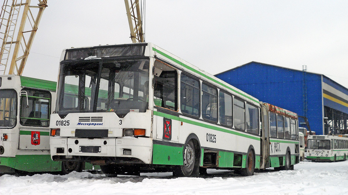 Moscow, Ikarus 435.17 # 01825