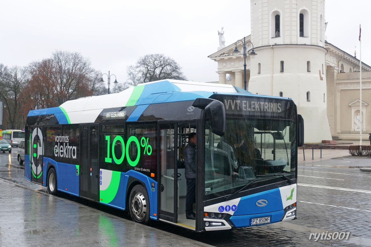 Lithuania, Solaris Urbino IV 12 Electric # 553