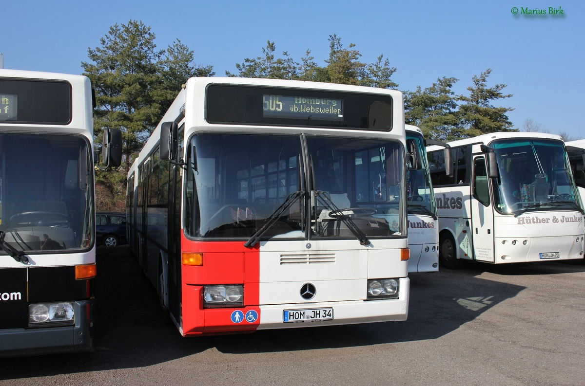 Germany, Mercedes-Benz O405G # HOM-JH 34
