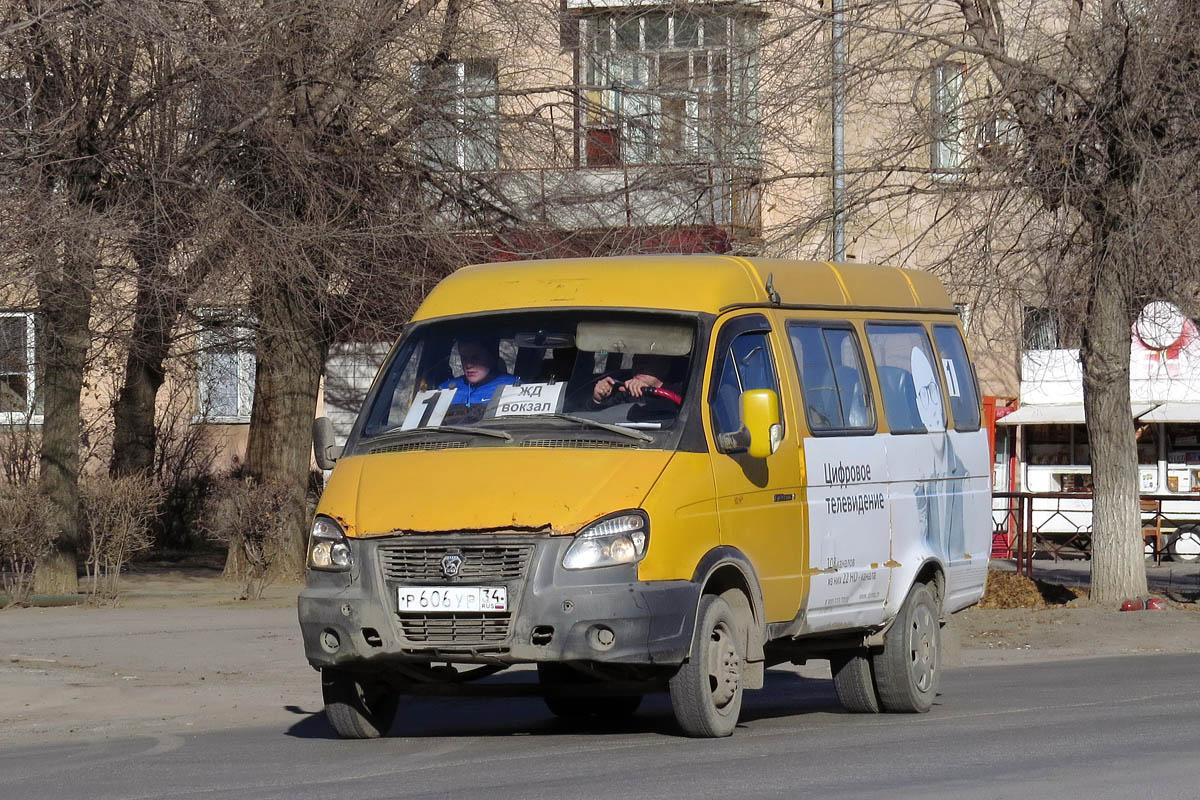 Volgograd region, GAZ-322132 (XTH, X96) # Р 606 УР 34