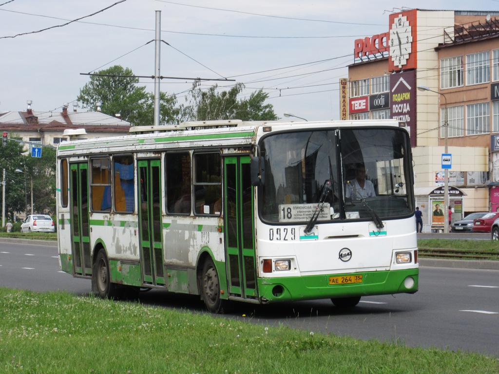 Vologda region, LiAZ-5256.26 # 0929