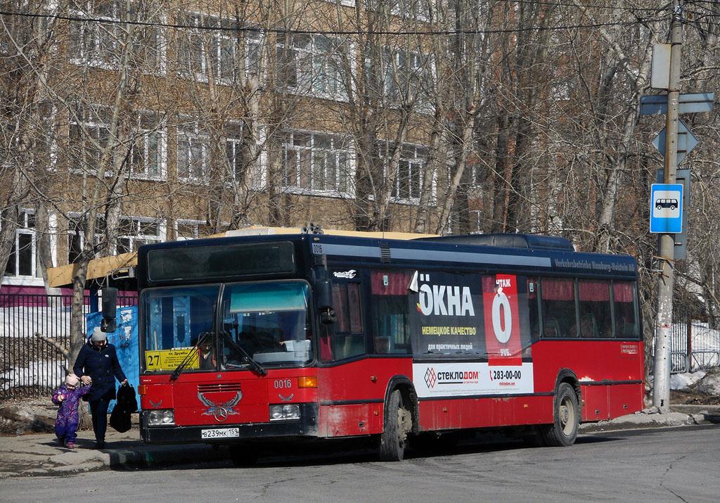 Perm region, Mercedes-Benz O405N2 # В 239 МК 159