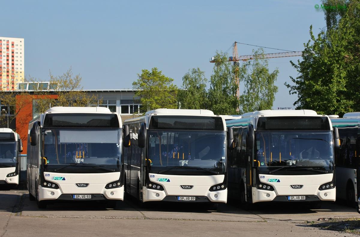 Germany, VDL Citea LLE-120.225 # SP-VB 88; Germany, VDL Citea LLE-120.225 # SP-VB 89; Germany, VDL Citea LLE-120.225 # SP-VB 93; Germany — Miscellaneous photos