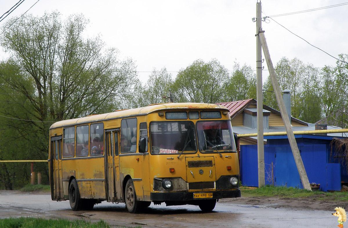 Нижегородская область, ЛиАЗ-677М № АК 498 52