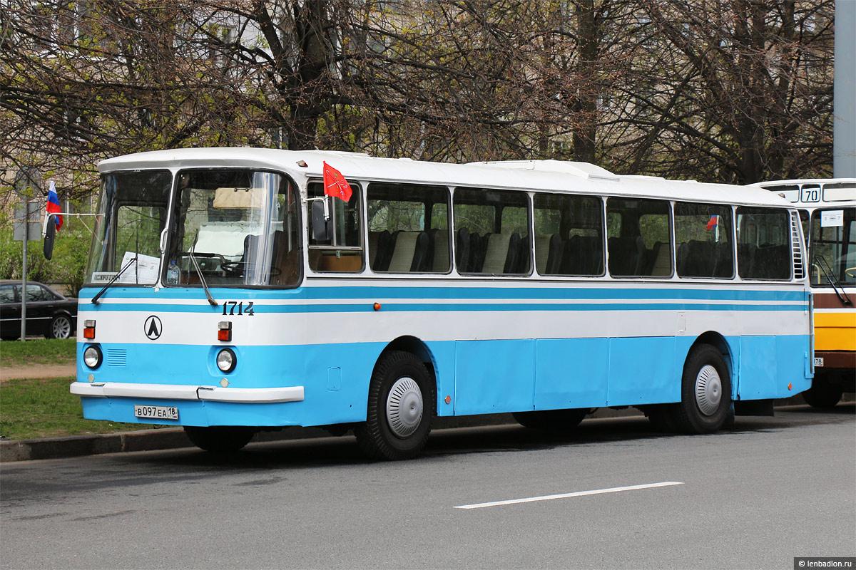 Saint-Petersburg, LAZ-699R # 1714; Saint-Petersburg — 3rd St. Petersburg parade of retro-transport, 21 May 2017