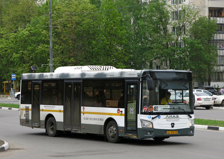 Moscow region, LiAZ-4292.60 (1-2-1) # 5002