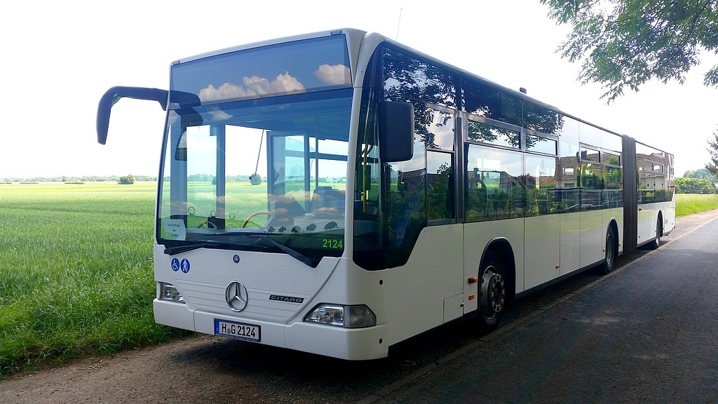 Germany, Mercedes-Benz O530 Citaro G # 2124