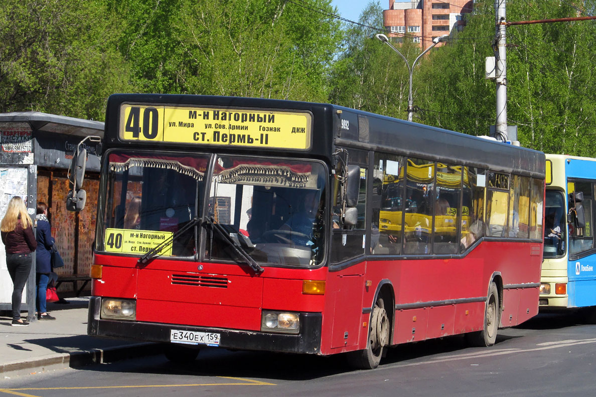 Perm region, Mercedes-Benz O405N2 # Е 340 ЕХ 159