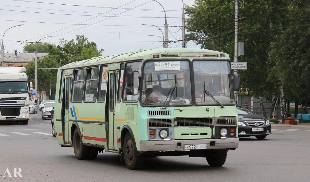 Tambov region, PAZ-4234 (00, T0, K0, B0) # Х 972 НН 57