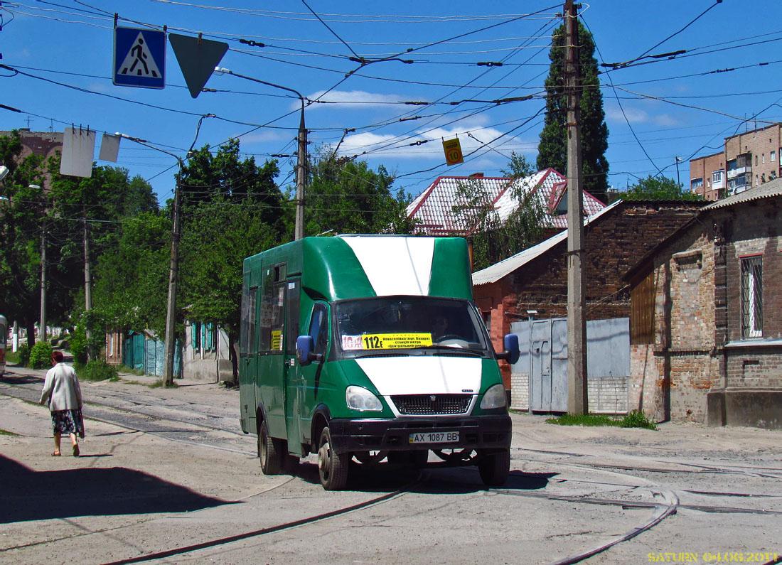 Kharkov region, Ruta 20 # АХ 1087 ВВ