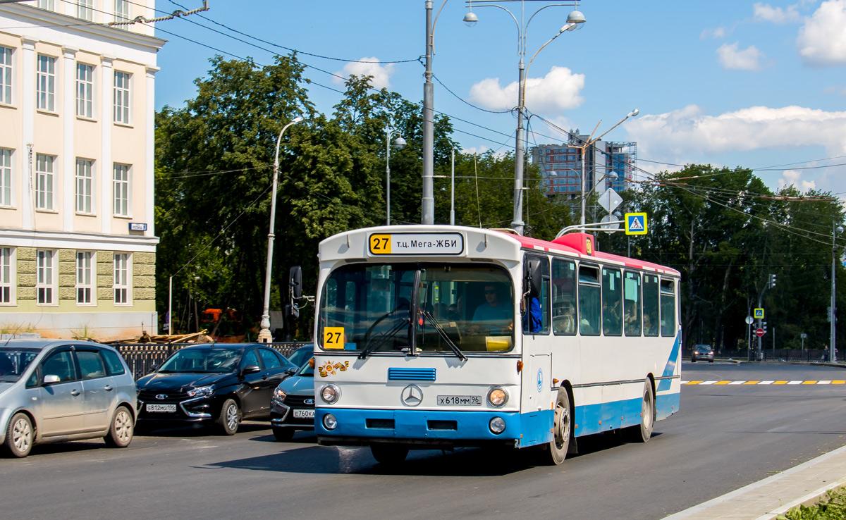 Sverdlovsk region, Mercedes-Benz O305 # Х 618 ММ 96