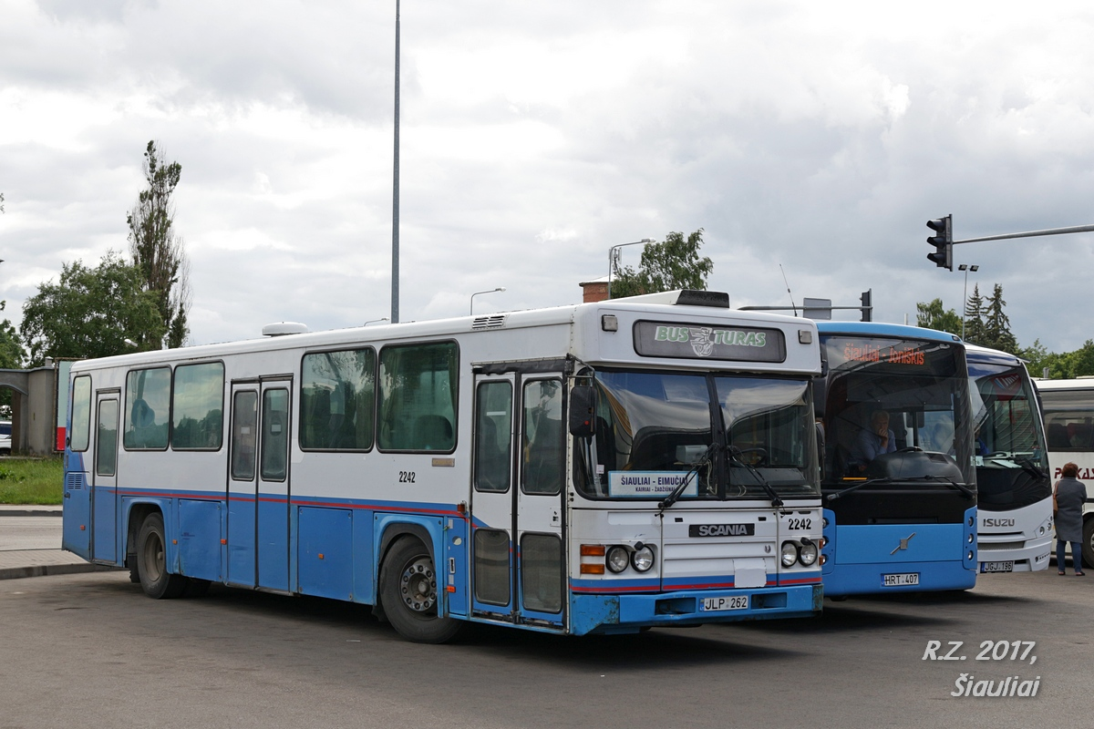 Lithuania, Scania CN113CLB # 2242