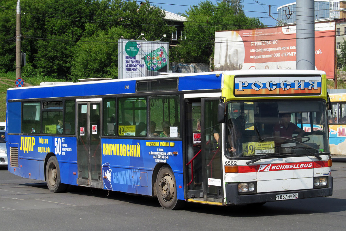 Perm region, Mercedes-Benz O405N # Т 857 ММ 59
