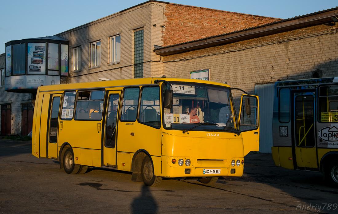 Volinskaya region, Богдан А092 (Y99-C39) # АС 2416 ВТ