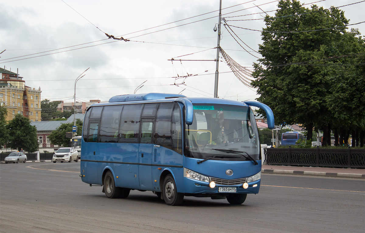 Ryazan region, Yutong ZK6737D # Т 365 ВМ 64