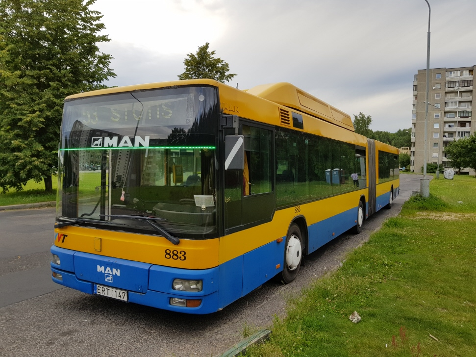 Lithuania, MAN A23 NG313 CNG # 883