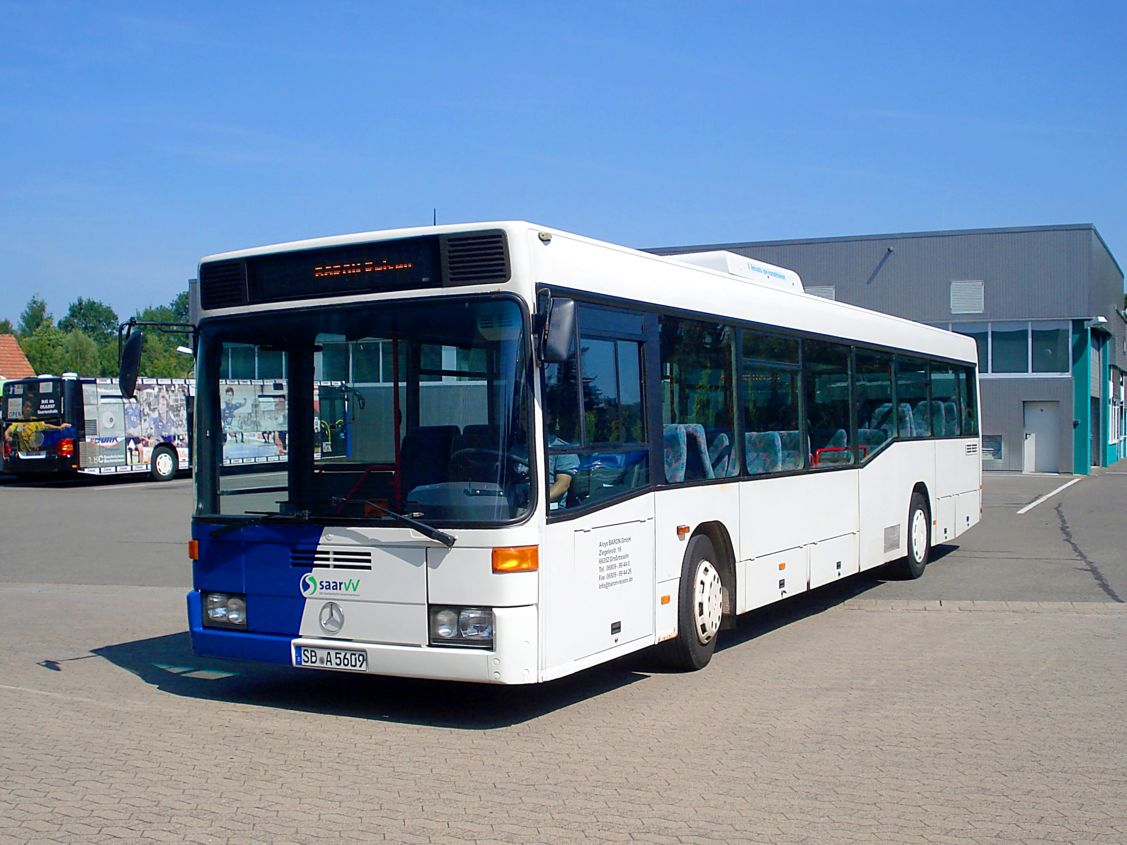 Germany, Mercedes-Benz O405N2Ü # SB-A 5609