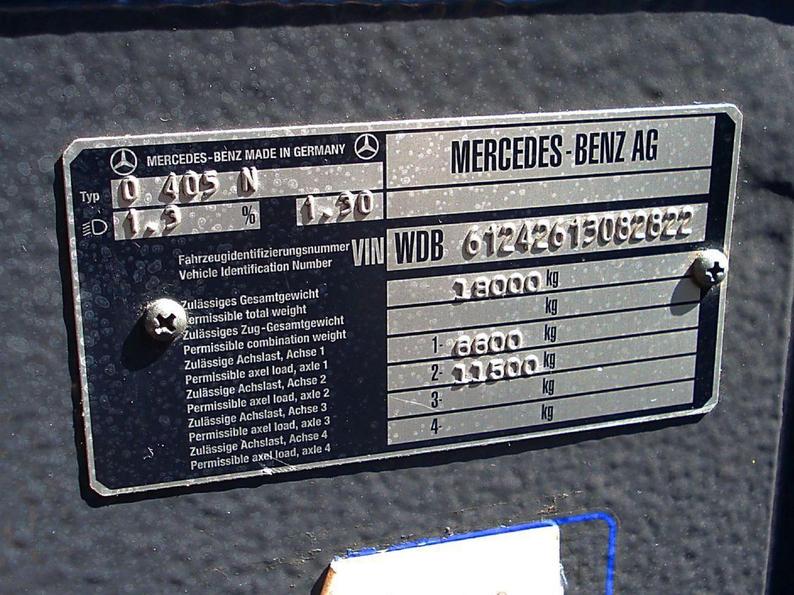 Germany, Mercedes-Benz O405N2Ü # SB-A 5609