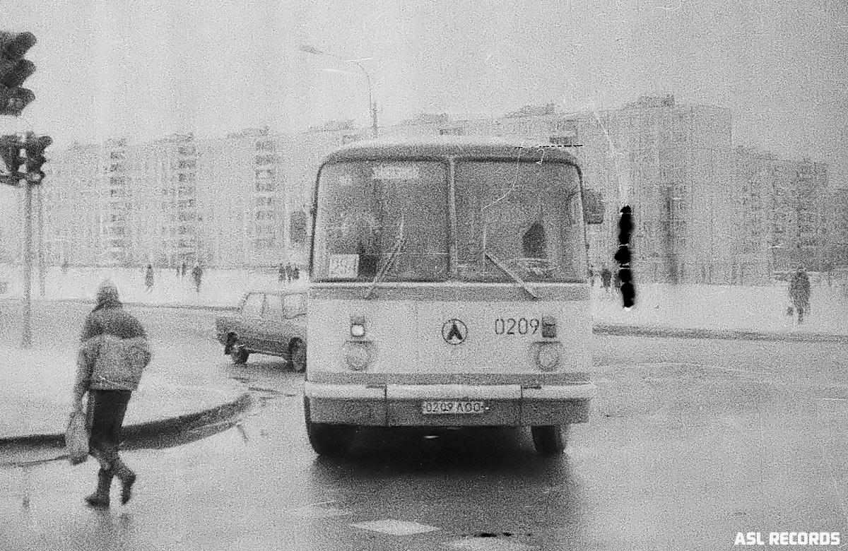 Saint-Petersburg, LAZ-695N # 0209