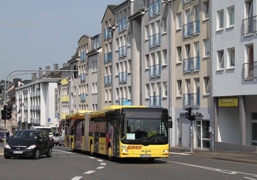 Germany, MAN A23 Lion's City G NG323 # 484