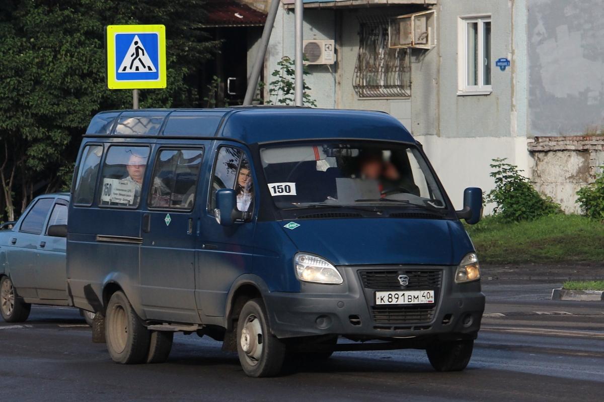 Tambov region, GAZ-322132 (XTH, X96) # К 891 ВМ 40