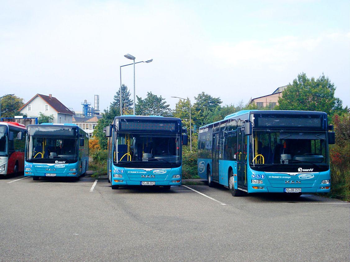 Germany, MAN A47 Lion's City M NL293-10,5 # MZ-DB 2573; Germany, MAN A47 Lion's City M NL293-10,5 # MZ-DB 2572; Germany, MAN A47 Lion's City M NL293-10,5 # MZ-DB 2570; Germany — Miscellaneous photos