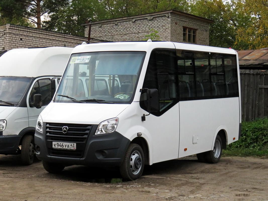 Kirov region, GAZ-A64R42 Next # К 946 УА 43